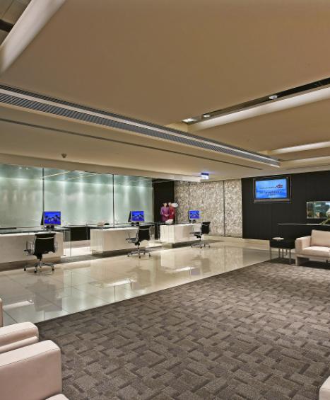 中華航空第二航廈頭等艙報到區