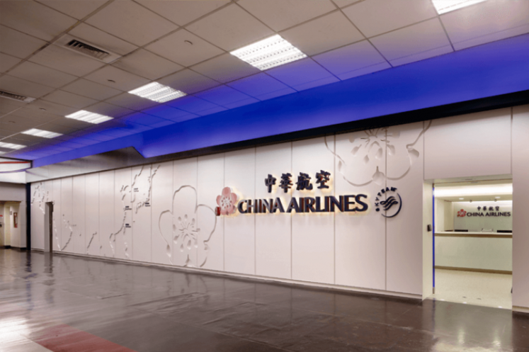 China Airline Service Counter