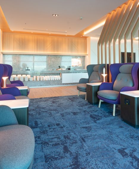 Taiwan Taoyuan International Airport Terminal 2-Oriental Club Lounge